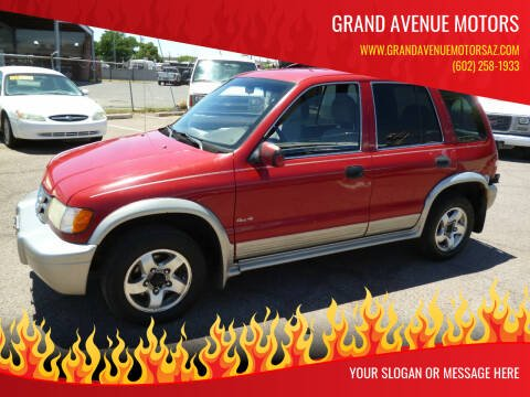 2000 Kia Sportage for sale at Grand Avenue Motors in Phoenix AZ
