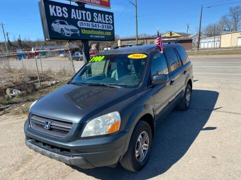2003 Honda Pilot for sale at KBS Auto Sales in Cincinnati OH