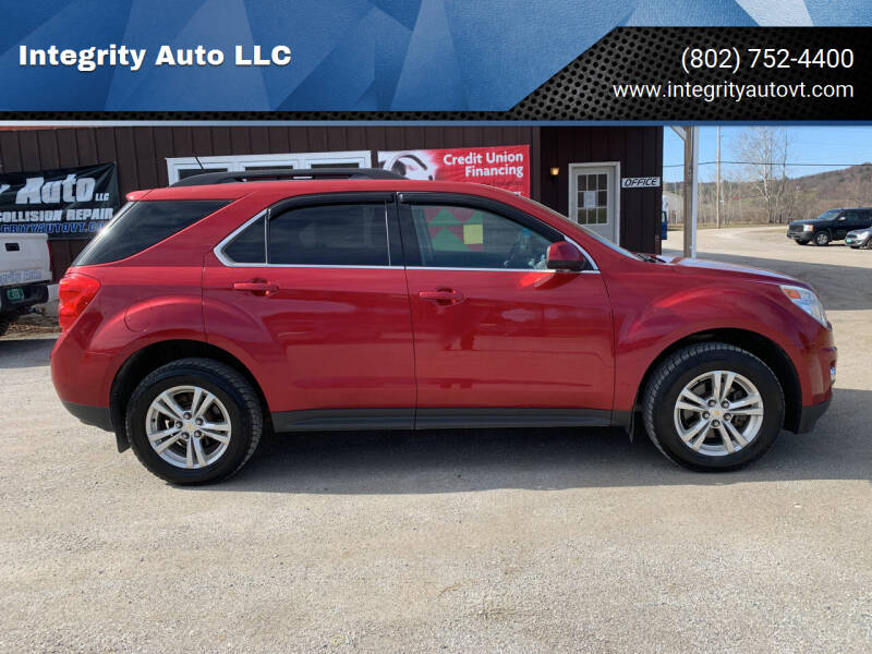 2014 Chevrolet Equinox for sale at Integrity Auto LLC in Sheldon VT