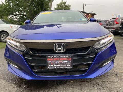 2018 Honda Accord for sale at Nasa Auto Group LLC in Passaic NJ