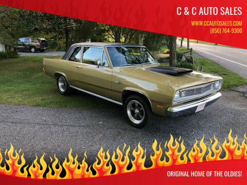 1969 Plymouth Valiant for sale at C & C AUTO SALES in Riverside NJ