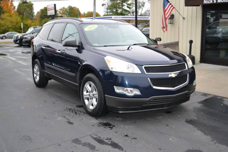 2010 Chevrolet Traverse for sale at Nick's Motor Sales LLC in Kalkaska MI