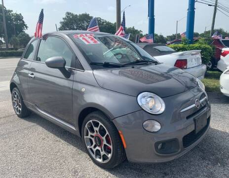 2013 FIAT 500 for sale at AUTO PROVIDER in Fort Lauderdale FL