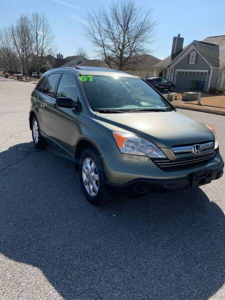 2007 Honda CR-V for sale at TOLBERT AUTOMOTIVE, LLC in Harvest AL