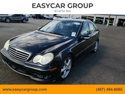 2006 Mercedes-Benz C-Class for sale at EASYCAR GROUP in Orlando FL