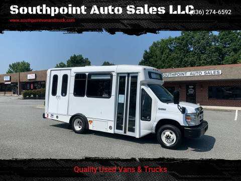 2015 Ford E-Series Chassis for sale at Southpoint Auto Sales LLC in Greensboro NC