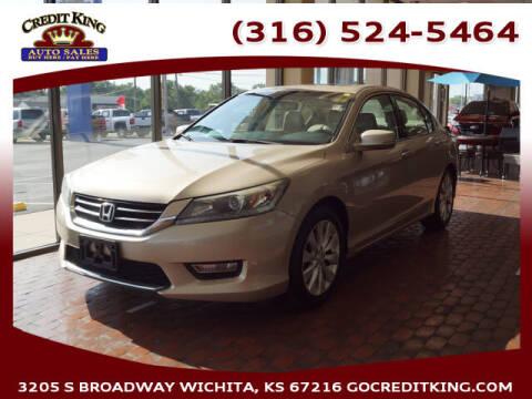 2013 Honda Accord for sale at Credit King Auto Sales in Wichita KS