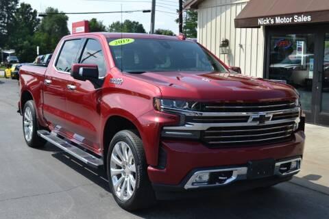 2019 Chevrolet Silverado 1500 for sale at Nick's Motor Sales LLC in Kalkaska MI