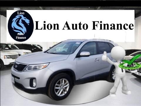 2015 Kia Sorento for sale at Lion Auto Finance in Houston TX