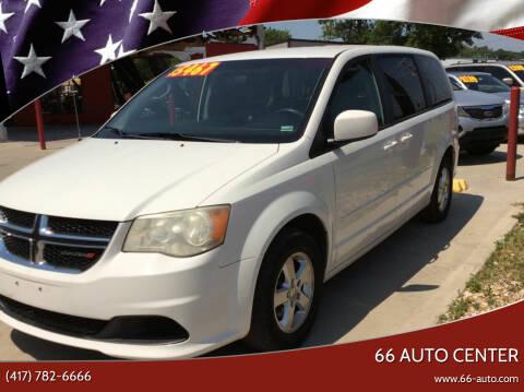2012 Dodge Grand Caravan for sale at 66 Auto Center in Joplin MO