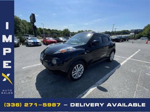 2013 Nissan JUKE for sale at Impex Auto Sales in Greensboro NC