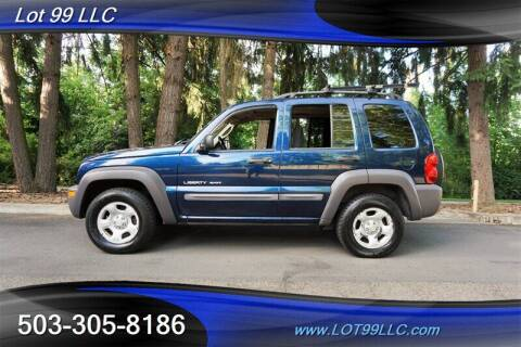 2003 Jeep Liberty for sale at LOT 99 LLC in Milwaukie OR