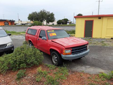 1995 Dodge Dakota for sale at Easy Credit Auto Sales in Cocoa FL