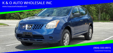 2010 Nissan Rogue for sale at K & O AUTO WHOLESALE INC in Jacksonville FL
