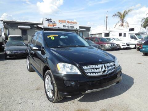 2008 Mercedes-Benz M-Class for sale at DMC Motors of Florida in Orlando FL