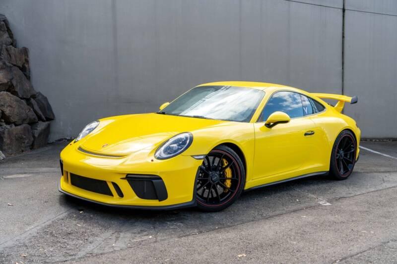 2018 Porsche 911 for sale at Zadart in Bellevue WA