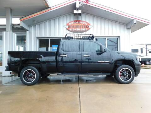2011 GMC Sierra 2500HD for sale at Motorsports Unlimited in McAlester OK