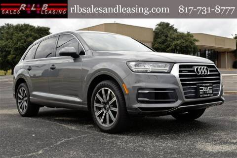 2017 Audi Q7 for sale at RLB Sales and Leasing in Fort Worth TX