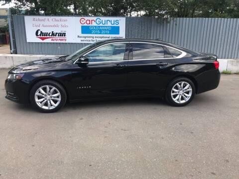2018 Chevrolet Impala for sale at Chuckran Auto Parts Inc in Bridgewater MA