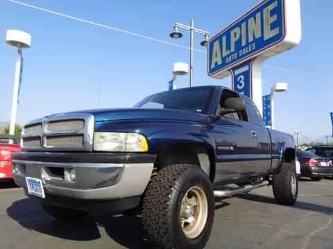 2001 Dodge Ram Pickup 2500 for sale at Alpine Auto Sales in Salt Lake City UT