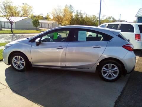 2018 Chevrolet Cruze for sale at Four Guys Auto in Cedar Rapids IA
