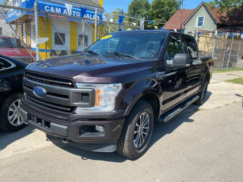 2018 Ford F-150 for sale at C & M Auto Sales in Detroit MI