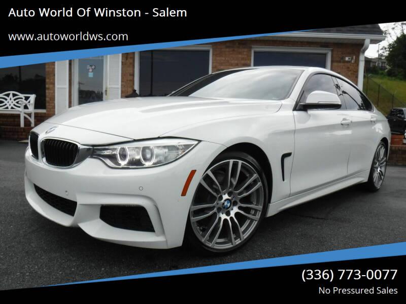 2015 BMW 4 Series for sale at Auto World Of Winston - Salem in Winston Salem NC