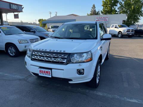 2013 Land Rover LR2 for sale at Adams Auto Sales in Sacramento CA
