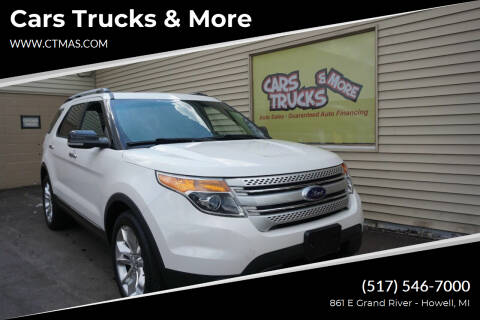 2013 Ford Explorer for sale at Cars Trucks & More in Howell MI