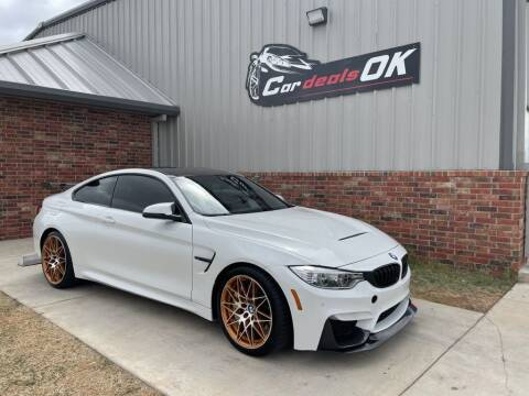 2016 BMW M4 for sale at Car Deals OK in Oklahoma City OK