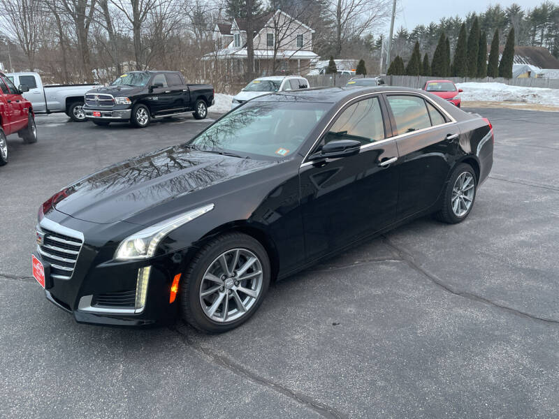 2018 Cadillac CTS for sale at Glen's Auto Sales in Fremont NH