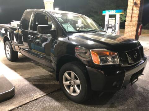 2012 Nissan Titan for sale at XCELERATION AUTO SALES in Chester VA