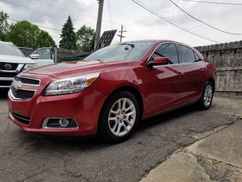 2013 Chevrolet Malibu for sale at DALE'S AUTO INC in Mt Clemens MI