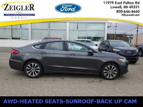 2019 Ford Fusion for sale at Zeigler Ford of Plainwell- michael davis in Plainwell MI