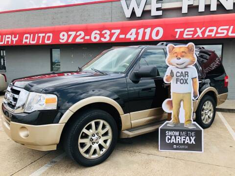 2011 Ford Expedition for sale at Texas Luxury Auto in Cedar Hill TX
