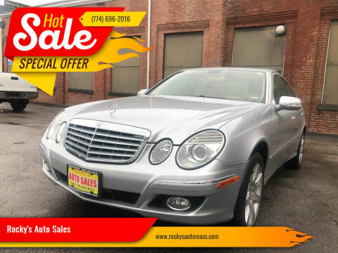 2008 Mercedes-Benz E-Class for sale at Rocky's Auto Sales in Worcester MA