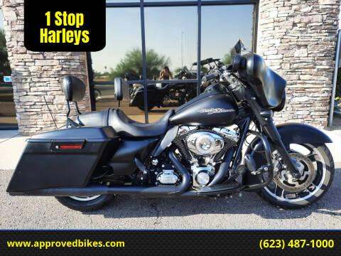 2013 Harley-Davidson Street Glide FLHX for sale at 1 Stop Harleys in Peoria AZ