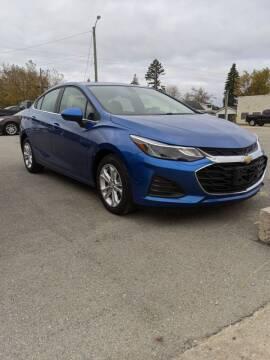 2019 Chevrolet Cruze for sale at Hudson Motor Sales in Alpena MI