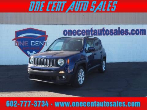 2016 Jeep Renegade for sale at One Cent Auto Sales in Glendale AZ