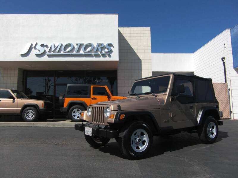 1999 Jeep Wrangler for sale at J'S MOTORS in San Diego CA