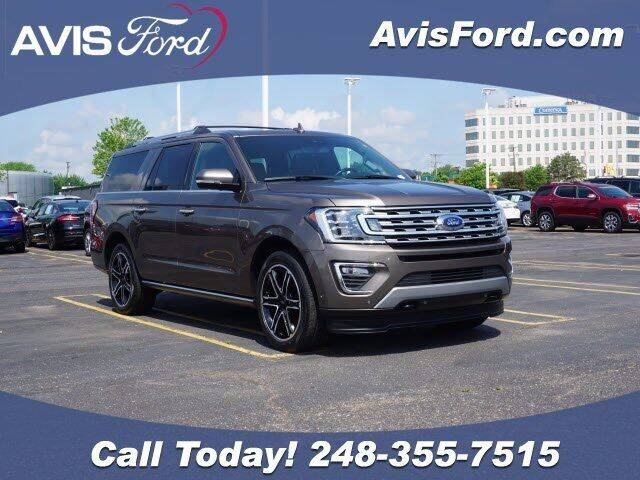 2019 Ford Expedition MAX for sale at Work With Me Dave in Southfield MI