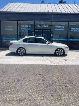 2009 BMW 5 Series for sale at Georgia Certified Motors in Stockbridge GA