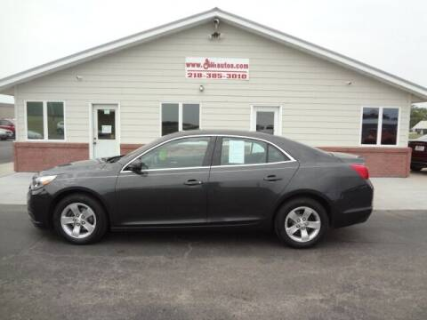 2016 Chevrolet Malibu Limited for sale at GIBB'S 10 SALES LLC in New York Mills MN