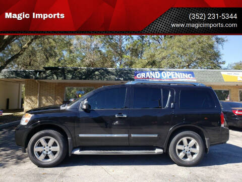 2014 Nissan Armada for sale at Magic Imports in Melrose FL