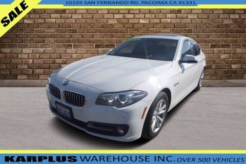 2016 BMW 5 Series for sale at Karplus Warehouse in Pacoima CA