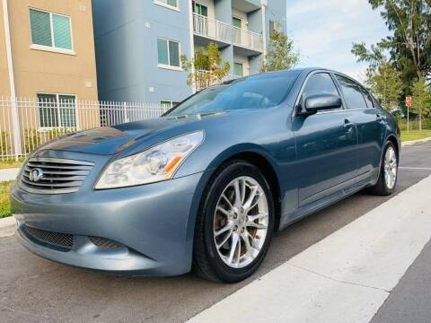 2007 Infiniti G35 for sale at LA Motors Miami in Miami FL