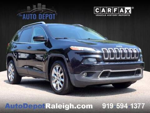 2014 Jeep Cherokee for sale at The Auto Depot in Raleigh NC
