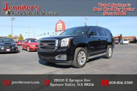 2015 GMC Yukon for sale at Jennifer's Auto Sales in Spokane Valley WA
