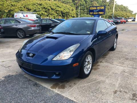 2001 Toyota Celica for sale at Oceana Motors in Virginia Beach VA