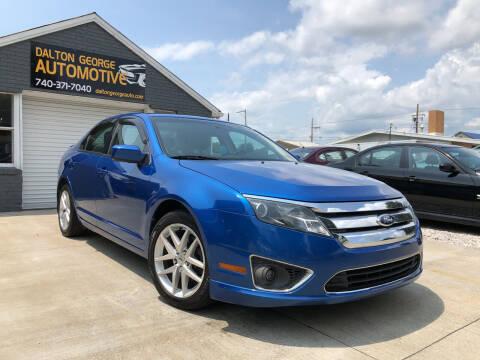 2012 Ford Fusion for sale at Dalton George Automotive in Marietta OH